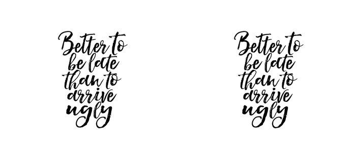 Better To Be Late Than Arrive Ugly Fashion Quotes Printable Art Makeup Print Makeup Quotes Makeup Coffee Mug