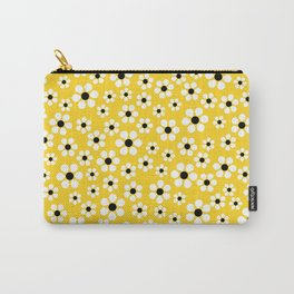Dizzy Daisies - Yellow - more colors Carry-All Pouch