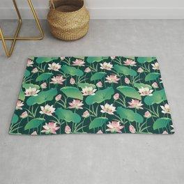 Lotus Pattern Rug