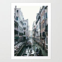 Venezia Canals Art Print