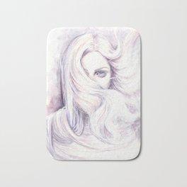 Aura - wind illustration Bath Mat
