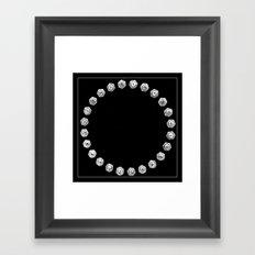 Bolts Framed Art Print
