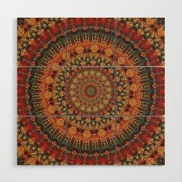 Mandala 563 Wood Wall Art