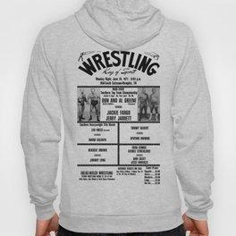 #14 Memphis Wrestling Window Card Hoody