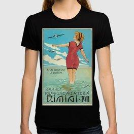 Italian Vintage Poster Rimini T-shirt