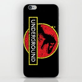 Monsters of the Underground iPhone Skin