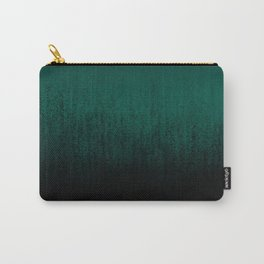 Emerald Ombré Carry-All Pouch