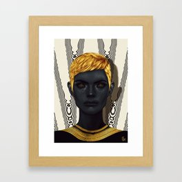"""Auros""  Framed Art Print"