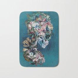 Floral Skull RP Bath Mat