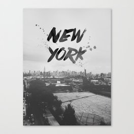 New York Baby Canvas Print