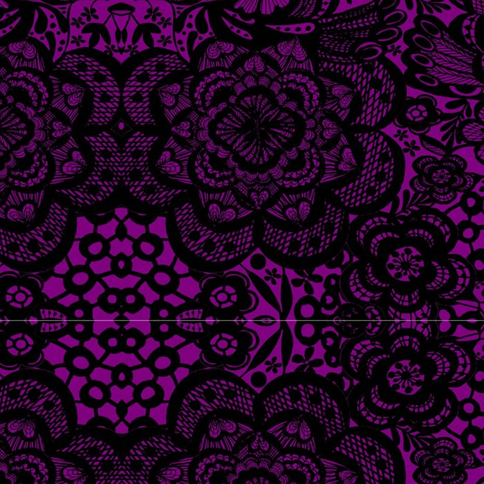 Dark Lace / purple goth Leggings