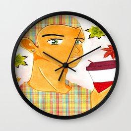 Coffee Kei Wall Clock