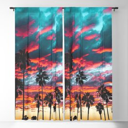 Sunset Blackout Curtain