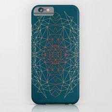 GeoGradientTurquoise iPhone 6s Slim Case