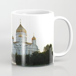 The Cathedral of Christ the Savior in Moscow Coffee Mug