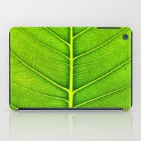 leaf iPad Cases featuring Leaf by Patterns and Textures