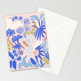 Rainforest Leopard Stationery Cards