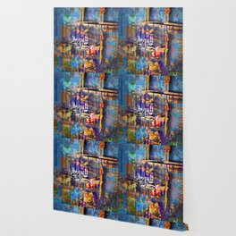 New York City Abstract Artist Gift 3 Wallpaper