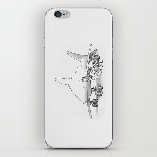 Pilot Fish iPhone & iPod Skin