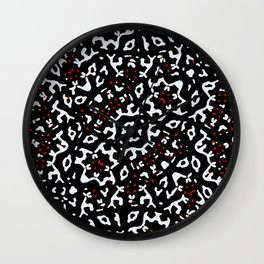 Bold Boho Ethnic Print Wall Clock