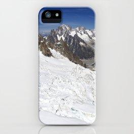 Mont Blanc Massif iPhone Case