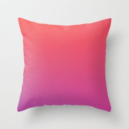 SPECIAL MOMENT - Minimal Plain Soft Mood Color Blend Prints Throw Pillow