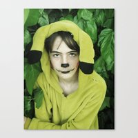 onesie Canvas Prints featuring Onesie Wonder by Dream Realm Photography and Art