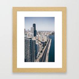 Lake Shore Drive Framed Art Print