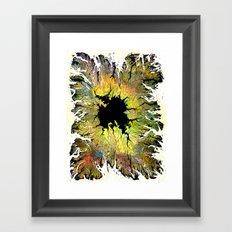 The Hole Framed Art Print