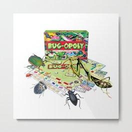 The Bug Games - Bugopoly Metal Print
