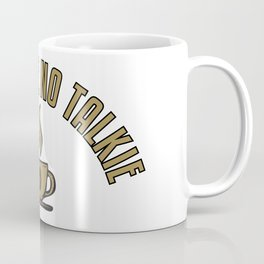 No Coffee No Talkie - Funny Coffeeology Quote Gift Coffee Mug