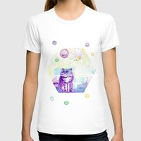 space cat T-shirts featuring Space Cat! by Colorful Simone