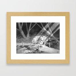 Inktober 2019 Mindless Framed Art Print