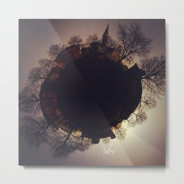 PLAZA PLANET PROJECT MONTICELLI D'ONGINA ITALY Metal Print