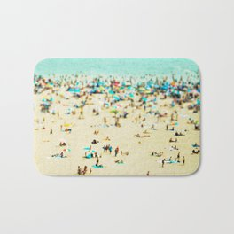 Coney Island Beach Bath Mat