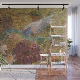 """"""" Hummingbirds """" Wall Mural"""