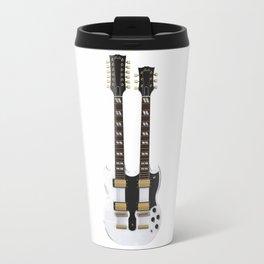 Double Neck Guitar Travel Mug