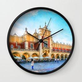 Cracow art 15 #cracow #krakow #city Wall Clock