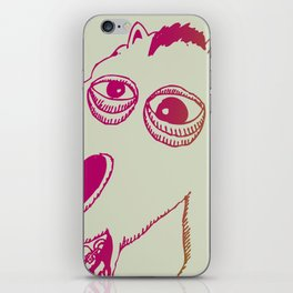Don't look a gift horse in the mouth iPhone Skin