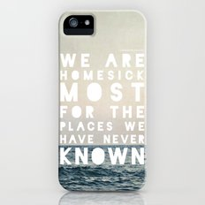 Homesick Slim Case iPhone (5, 5s)