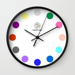 Robert Hirst Spot Clock 4 Wall Clock