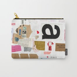 Paper Trail I  Carry-All Pouch