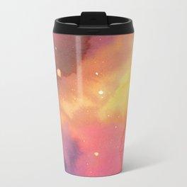 Watercolor Space 2 Metal Travel Mug