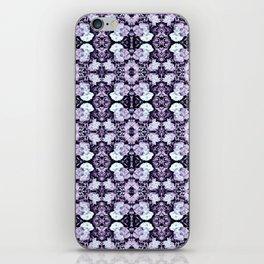 Violet  Roses Seamless Pattern iPhone Skin