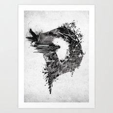 [ D ]ISASTER Art Print