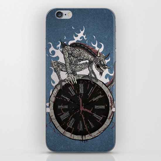 Guardian of Time iPhone & iPod Skin