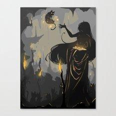 Familiar Canvas Print