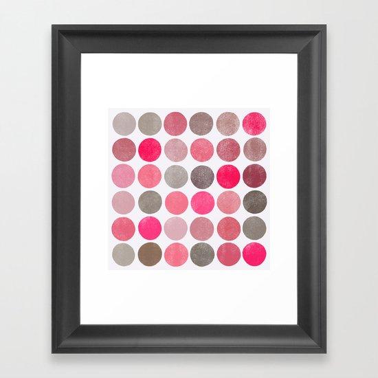 colorplay 4 sq Framed Art Print