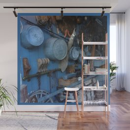 Blue Americana Collection Wall Mural