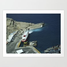 Crete, Greece 10 Art Print